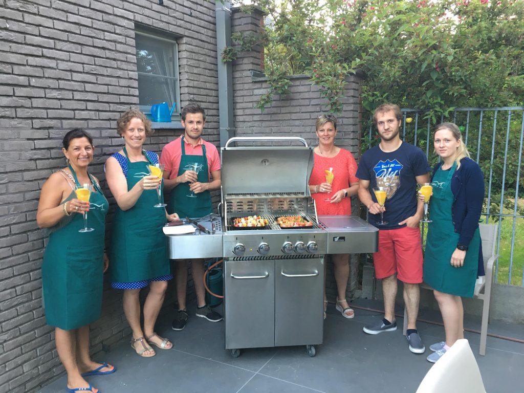 Sfeerfoto workshop gezond barbecueën