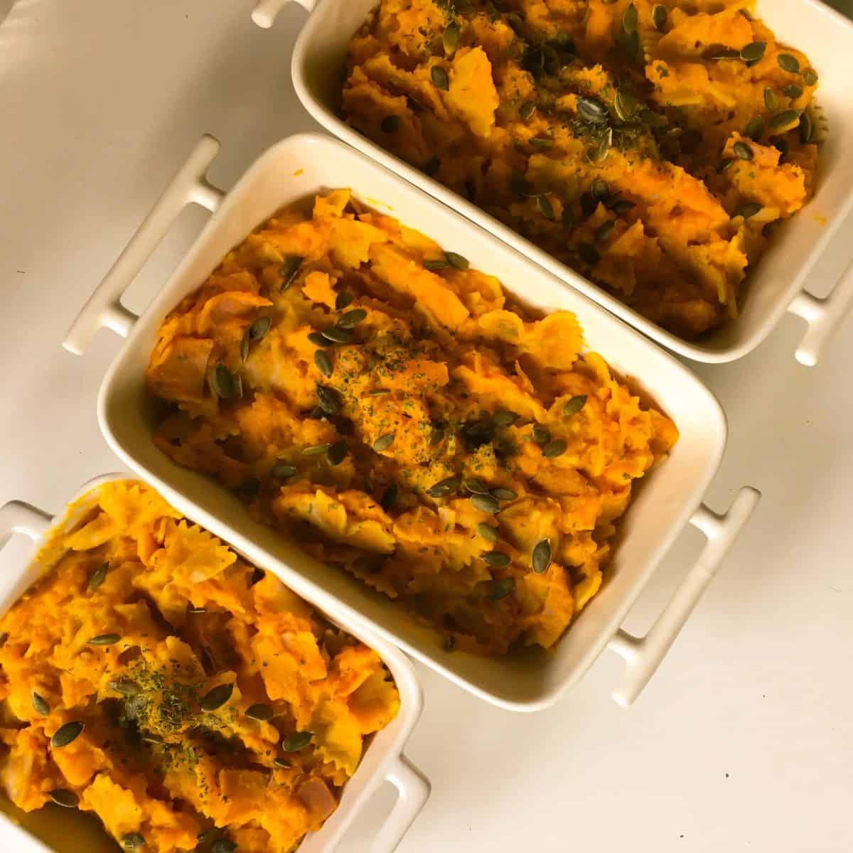 Foto van het recept pompoen macaroni
